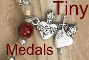 Inexpensive Oxidized medal Tiny Italy- Great for watch, Bracelets, Rosary parts favors-Tiny Miraculous medal-Rosary Parts-Bracelet Parts-Charm-Pendant Tiny Saint medals catholic Patron Saint