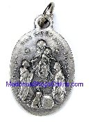 Rosary medal Queen of the Most Holy Rosary Medal Charm
