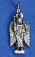 TINY Archangel Michael medals Silver Pendant Italy 2.3cm-25/Pkg TINY Archangel Michael medals Silver Pendant Italy 2.3cm
