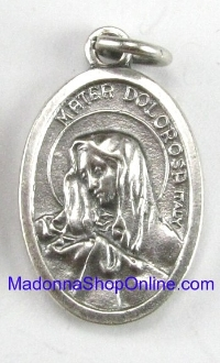 Sorrows LIMITED Style#2 Our Lady of Sorrows Medal 1""