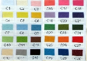 "100/Pkg-9 x 12"" Plush Felt Sheets Background Color for Banners CLASS PACK EXCLUSIVE! 30 Background Colors to choose from"