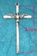CONFIRMATION Holy Spirit Cross 3.7 x 2.2cm with Antique Silver Finish