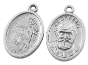 "St Charbel Makhlouf St Charbel Medal 1"" oval Italy Styles Vary"