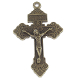 "98¢ Pardon Crucifix BRONZE Finish 2"" INDULGENCE CRUCIFIX Catholic Holy cross"