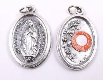 Our Lady of Guadalupe Relic Medal 3rd class Styles Vary