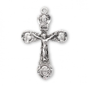 Rosary parts to make rosaries crucifixes rosary making supplies Traditional Four Angels Sterling Silver rosary Crucifix