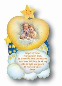 "4"" x 7"" Guardian Angel Plaque (Boxed) Imported Italy. Baptism Gifts Bay Gifts"