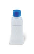 HOLY WATER BOTTLE CONTAINER 1 OZ CROSS DESIGN CATHOLIC HOLY WATER BOTTLE.. Catholic holy water bottles, Plastic Holy water bottle, inexpensive
