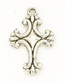 Small Cross 2.0x1.4cm Antique Silver Crosses Bulk